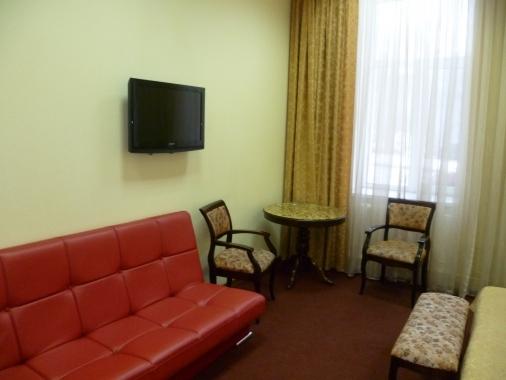 Арлекино, гостиница