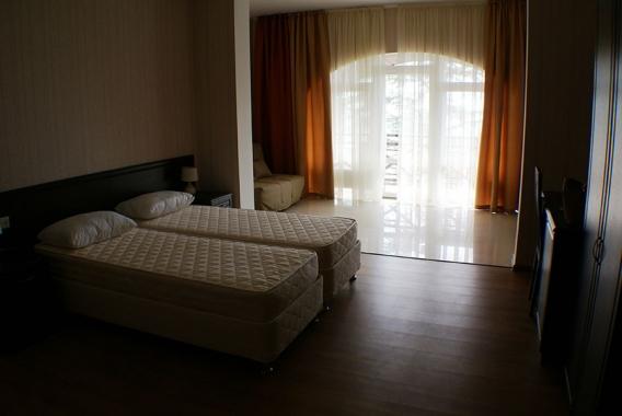Грин клаб, отель
