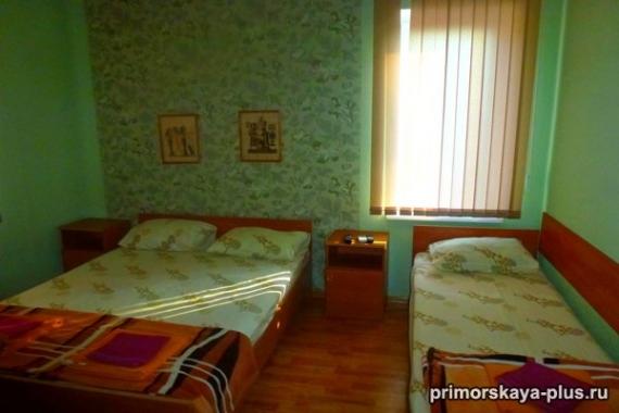 Приморская+, гостевой дом