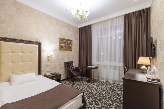 Bellagio, парк-отель