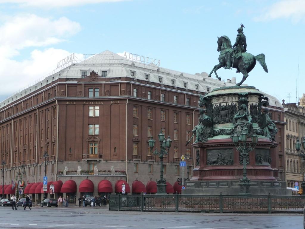 Отель Санкт-Петербурга Астория